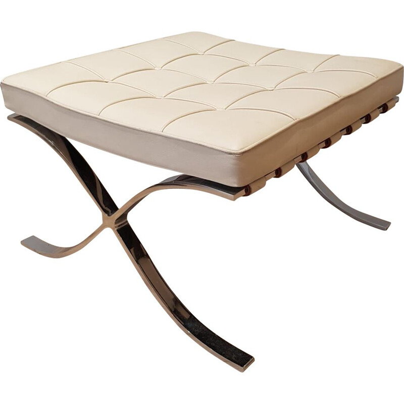 Barcelona ottoman by Mies van Der Rohe for Knoll