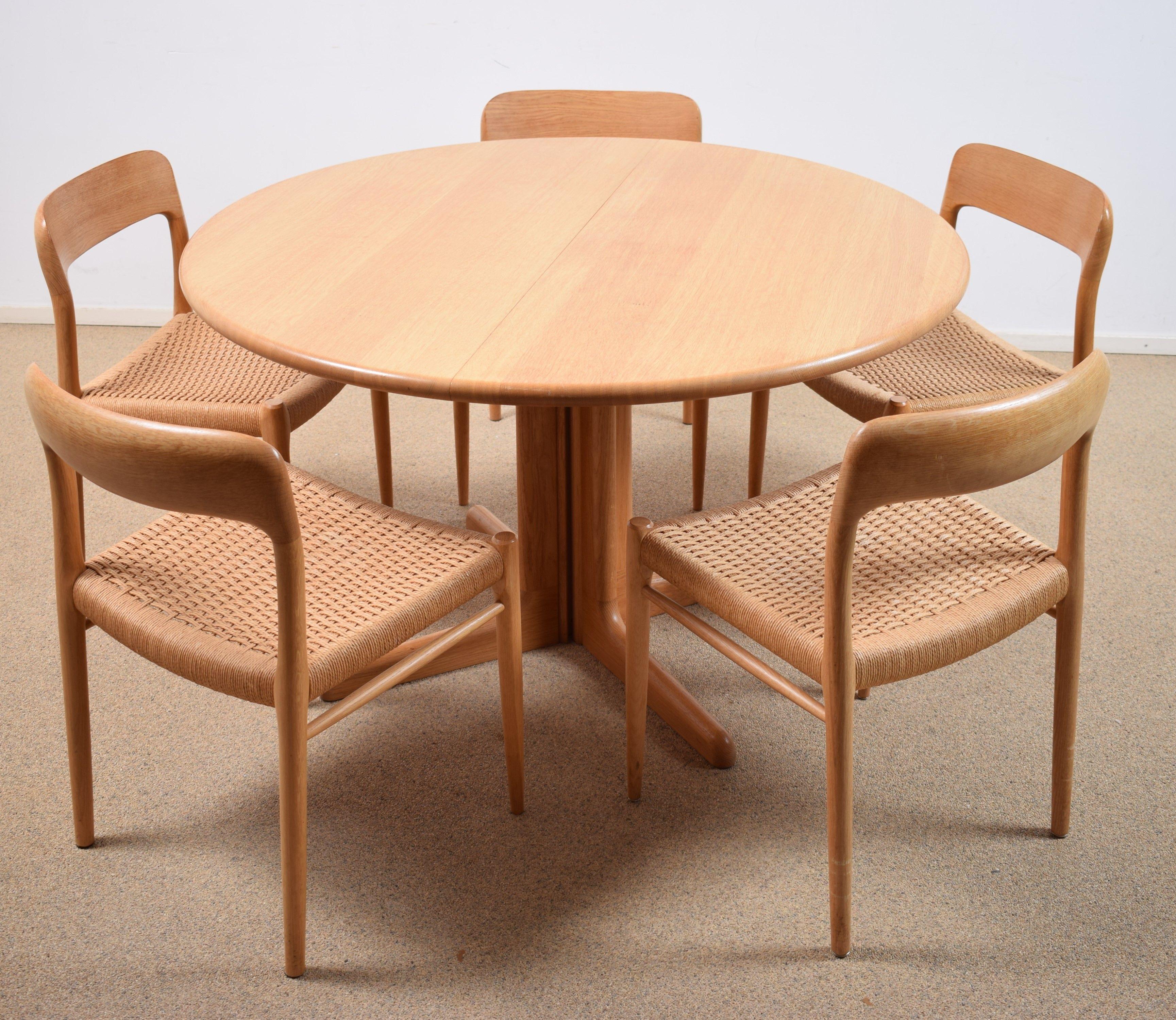 Office Cabin Interior Design, Vintage Dining Table Set By Niels Otto Moller 1950s Design Market