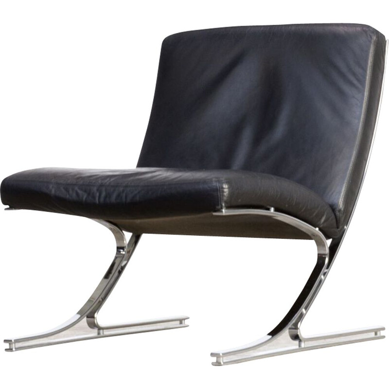 Berlin low chair by Meinhard von Gerkan for Knoll
