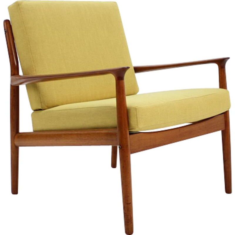 Vintage Armchair in Teak Arne Vodder for Glostrup 1960