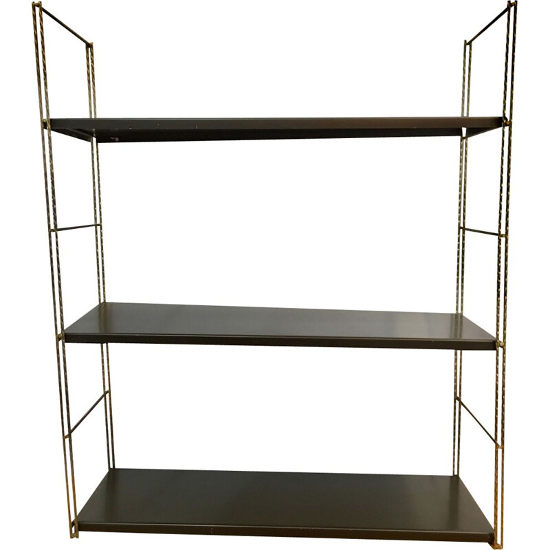 Dutch vintage shelves in steel 1960