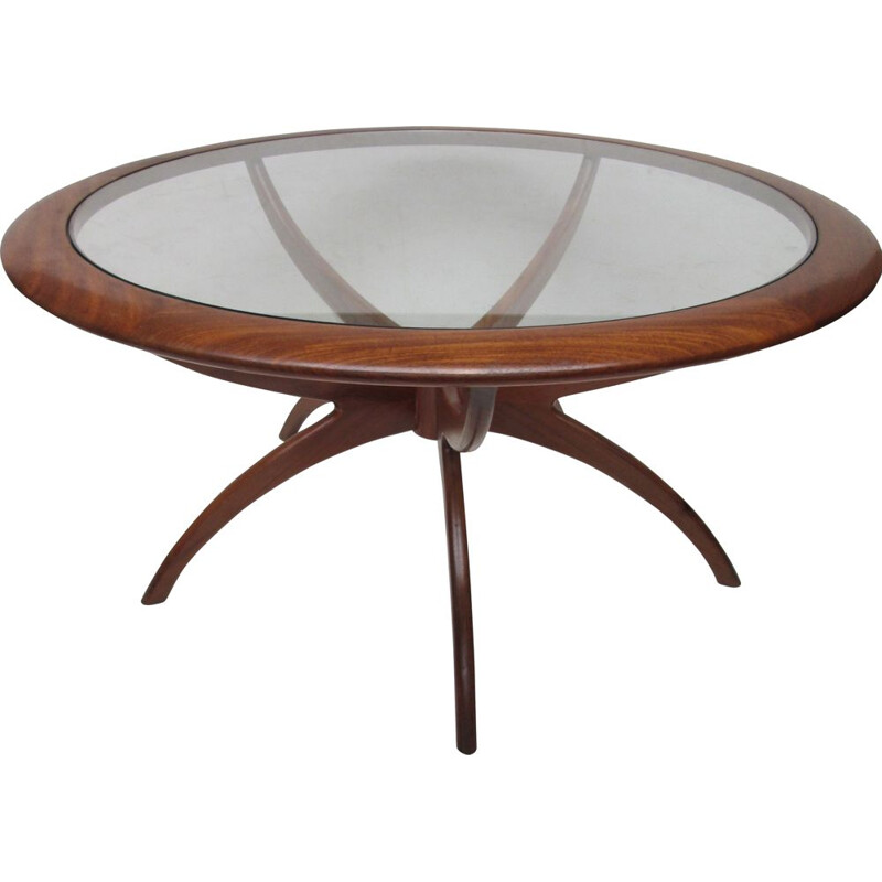 Coffee table in teak by Victor Wilkins for G-Plan