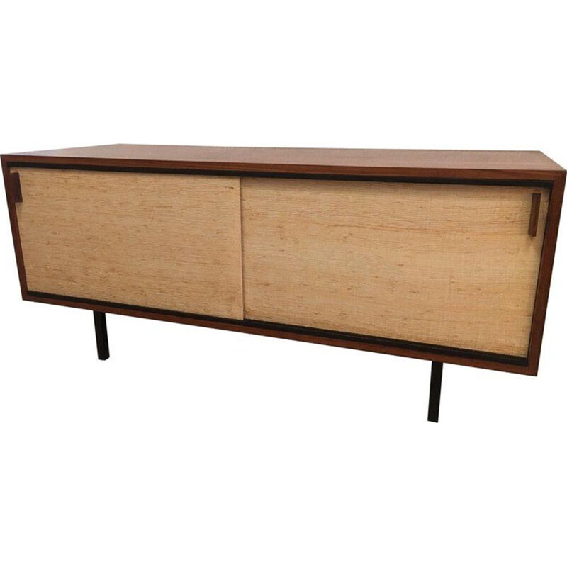 Small sideboard in rosewood by Dieter Wäeckerlin