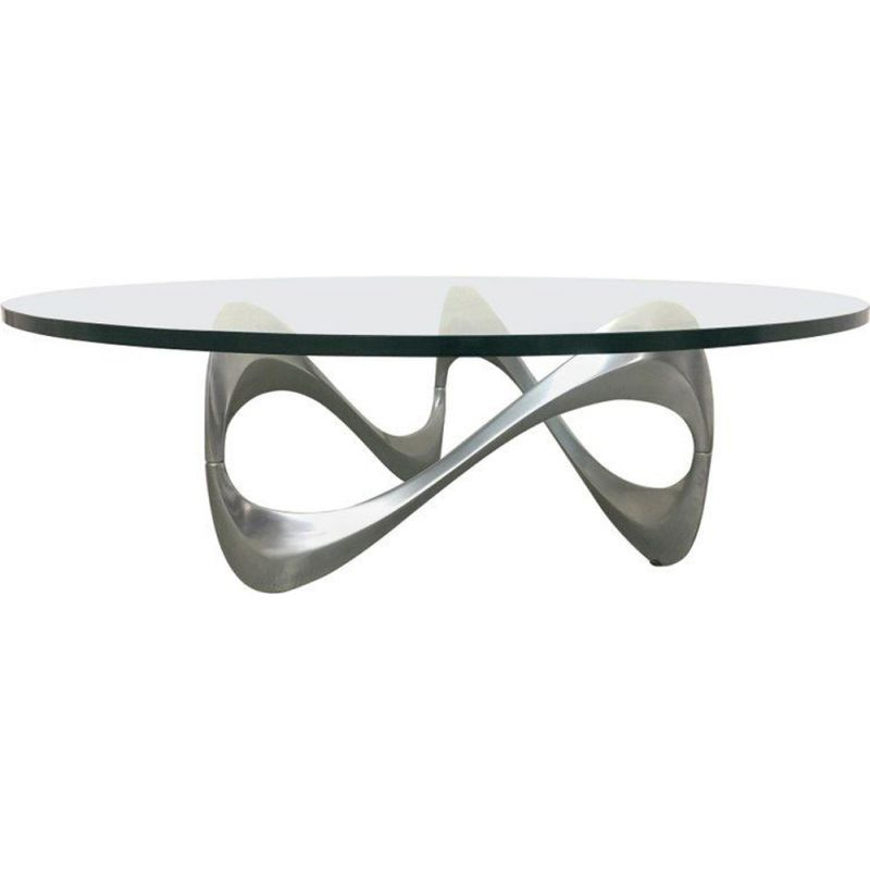 Snake coffee table by Knut Hesterberg