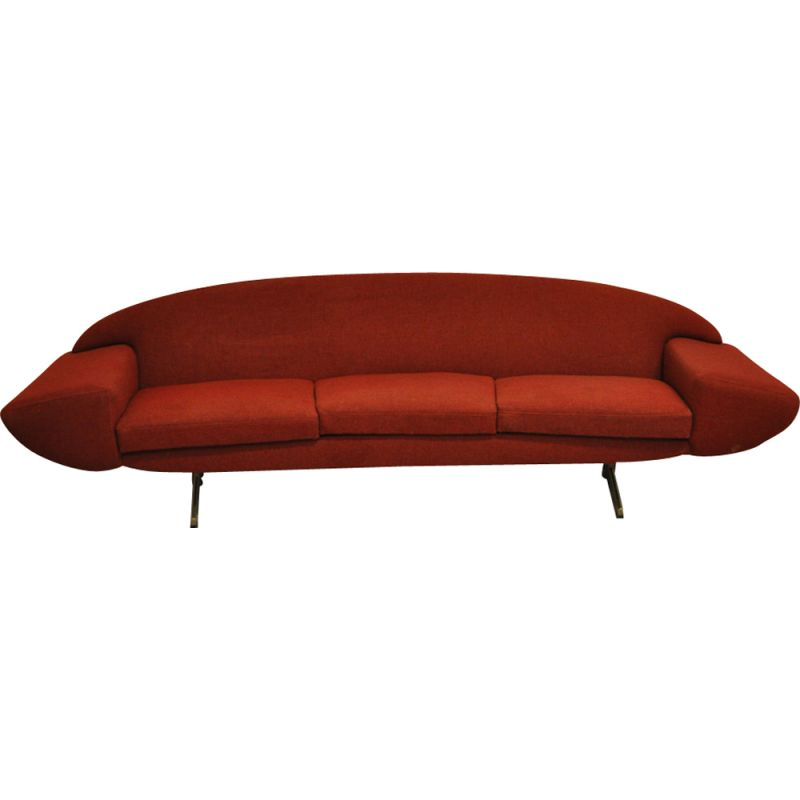 Vintage 3-seater sofa by Johannes Andersen from the 50s