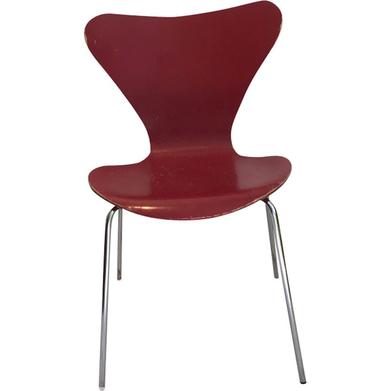 Vintage dining chair by Arne Jacobsen,1976
