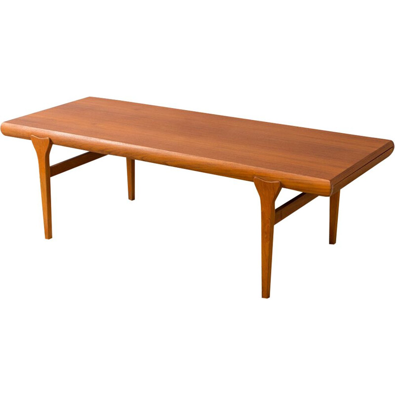 Vintage coffee table by Johannes Andersen for Silkeborg 1960s