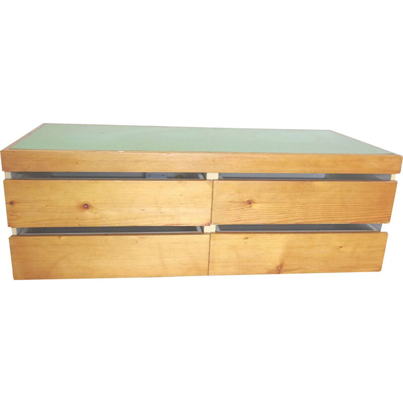 Vintage chest of drawers Charlotte Perriand Les arcs