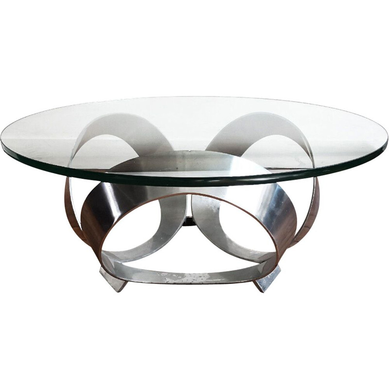 Vintage coffee table Diamond by Knut Hesterberg for Ronald Schmitt