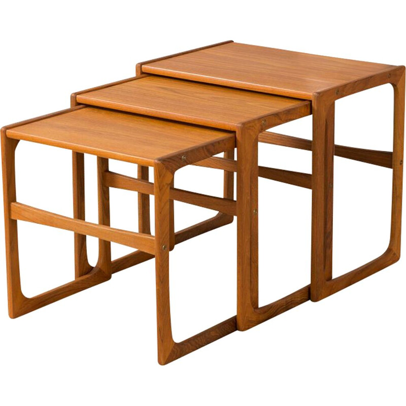 Vintage nesting tables by BR Gelsted