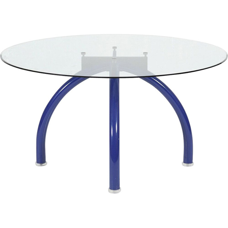 Vintage Spyder dining table by Ettore Sottsass 1980s