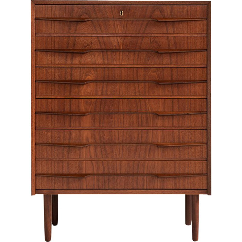 Vintage chest of drawers in teak Danish 1960s