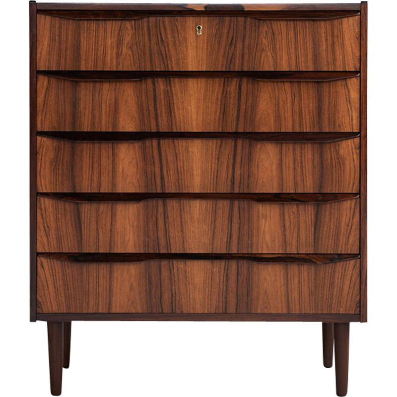 Vintage Chest of drawers in rosewood Danish 1960s