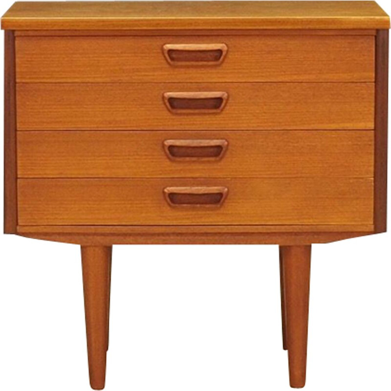 Vintage chest of drawers in teak Danish design 1960-70s
