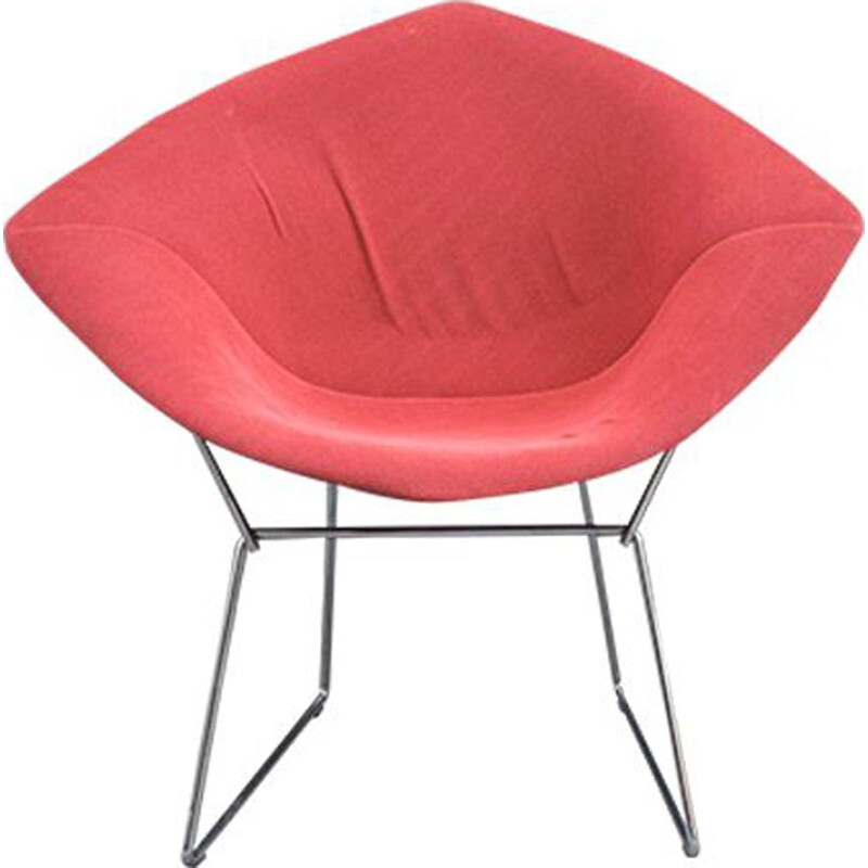 Vintage Diamond chair Harry Bertoia Knoll