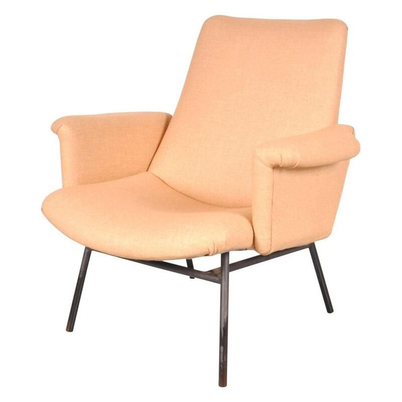 Vintage SK660 easy armchair Pierre Guariche by Steiner