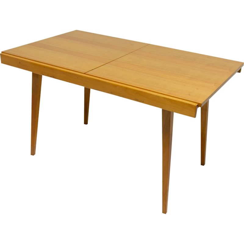 Vintage folding dining table by Frantisek Jirak for Tatra Nabytok