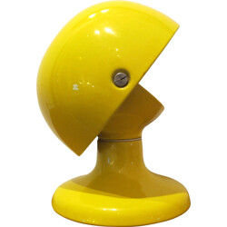 Jucker lamp in yellow lacquered metal, Tobia SCARPA - 1960s