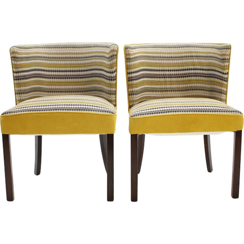Set of 2 vintage Fritz Hansen armchair