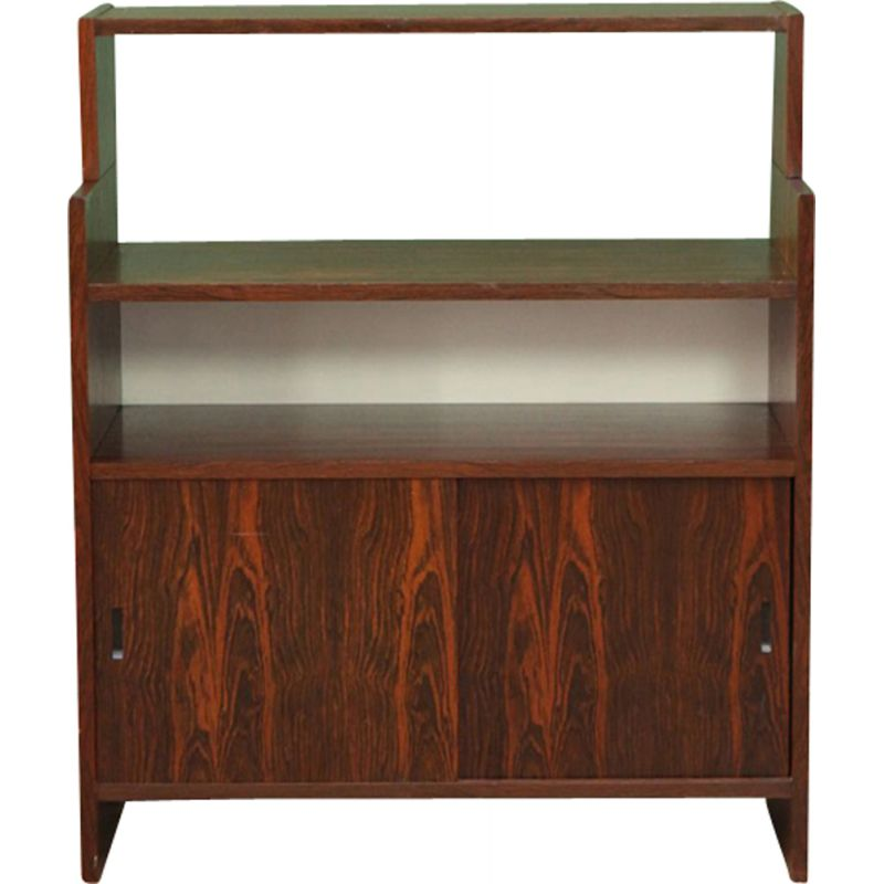Vintage lowboard in Rosewood by Poul Cadovius 1960s