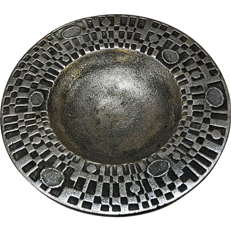 Vintage stainless steel dish