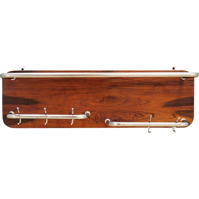 Vintage coat rack in rosewood
