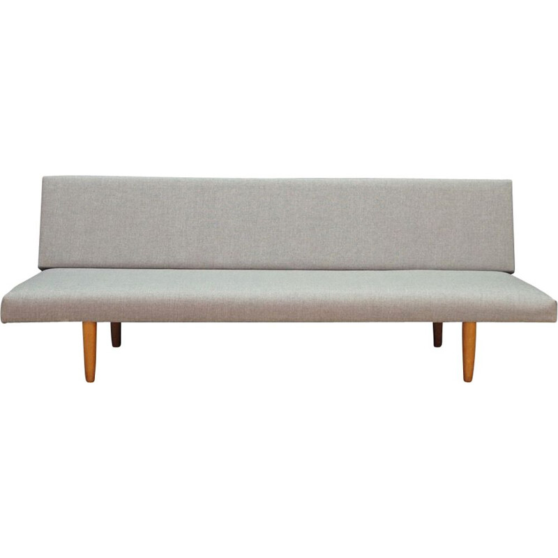 Scandinavian grey sofa in fabric
