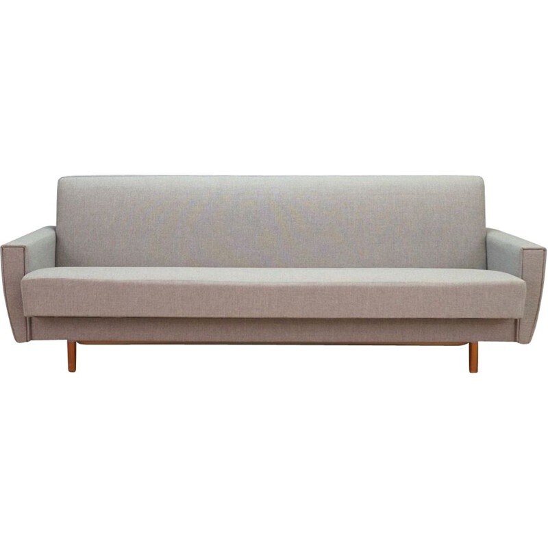 Scandinavian grey daybed in fabric