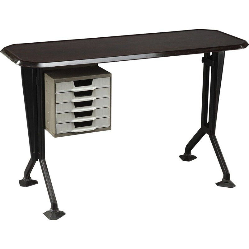 Vintage desk Arco by Studio BBPR for Olivetti Arredamenti 1960s