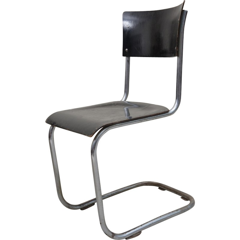 B43 Chair In Chrome And Wood Marcel BREUER