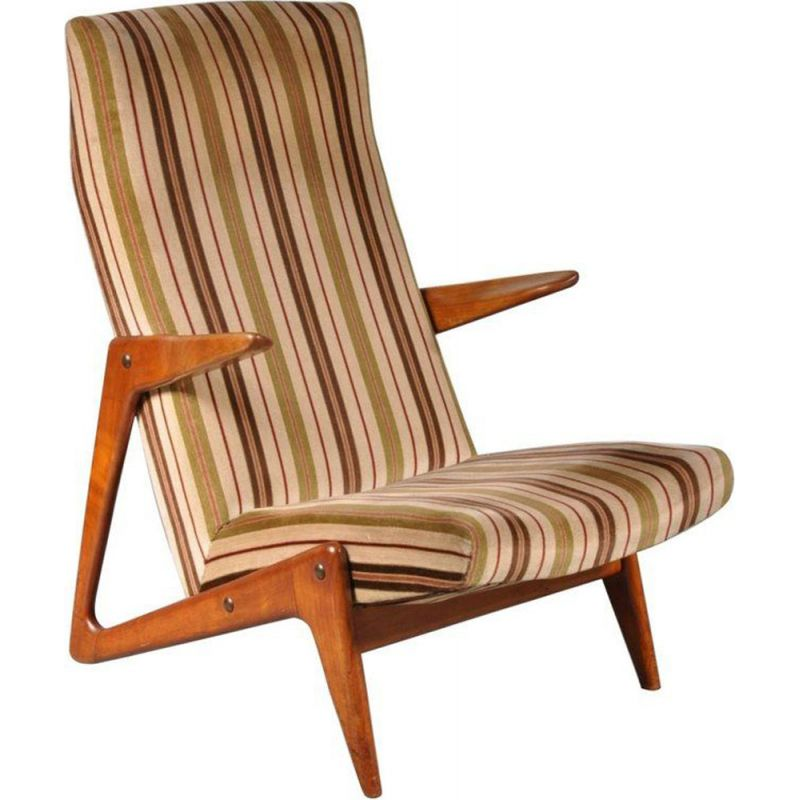 Vintage armchair by Alfred Hendrickx for Belform