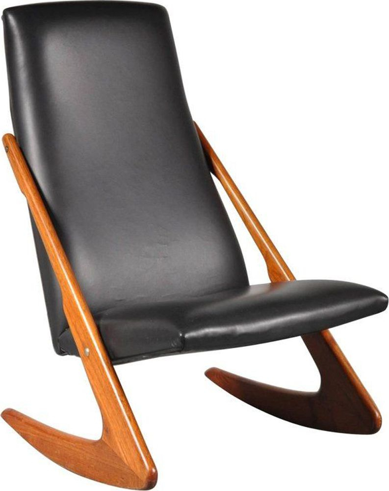 Boomerang Rocking Chair By Mogens Kold Design Market