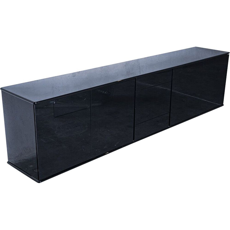 Black sideboard by Giulio Cappellini for Cappellini