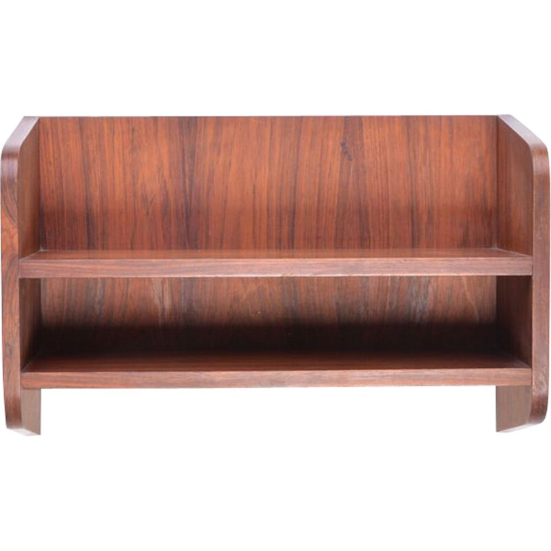 Vintage danish rosewood wall cabinet 1960