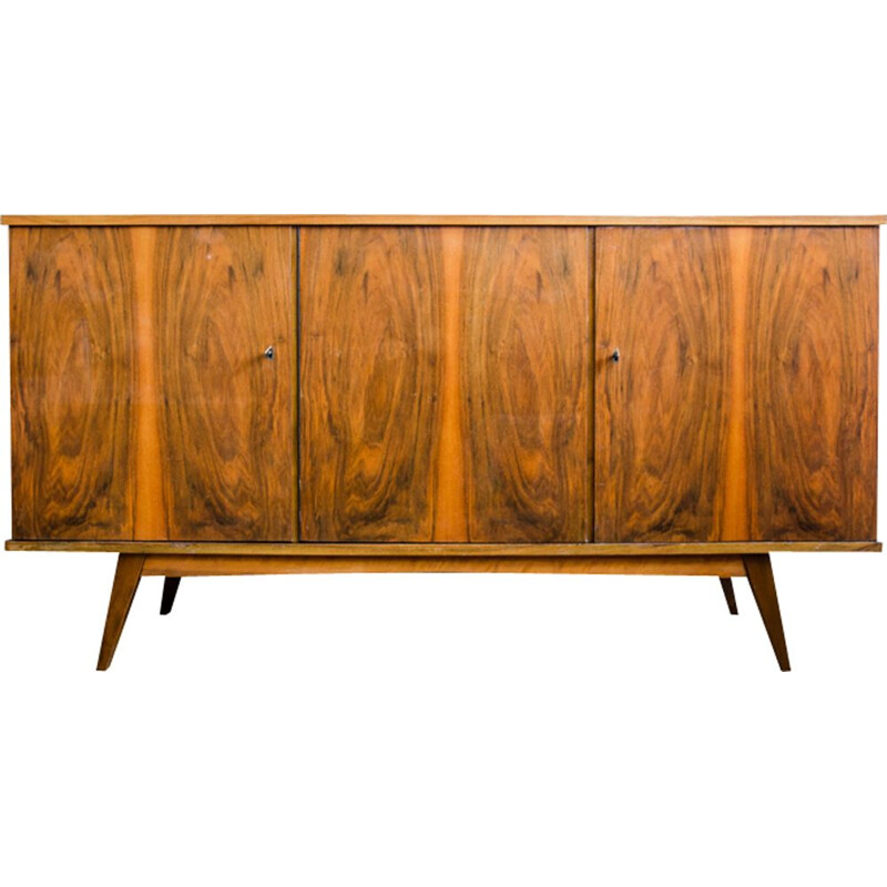 Vintage sideboard by Łódzkie Furniture Factory,Poland,1960