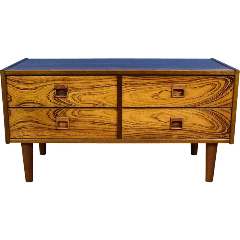 Danish chest of 4 drawers in rosewood