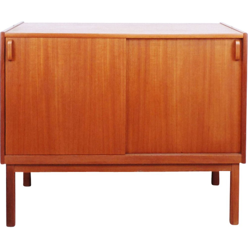 Vintage lowboard in teak by Bodafors, Swedish 1960