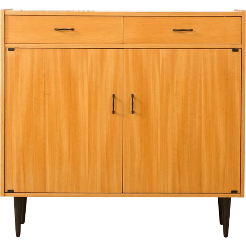 Vintage german cabinet in ashwood 1960