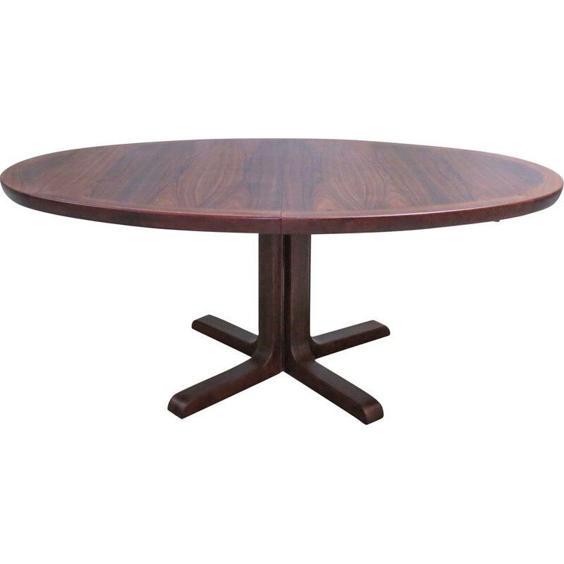 Vintage danish table for Skovby in rosewood 1960