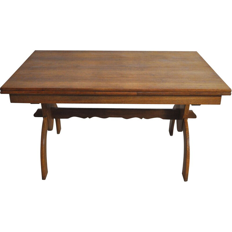 Vintage dining table by Henning Kjærnulf for EG Kvalitetsmøbel