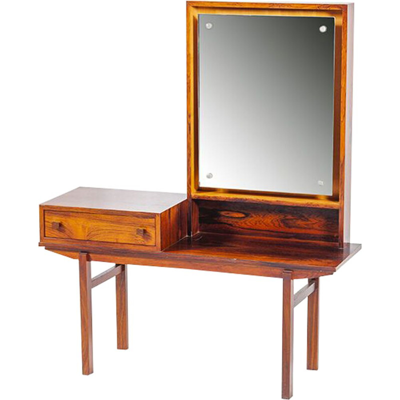 Vintage Dressing Table in rosewood Scandinavian