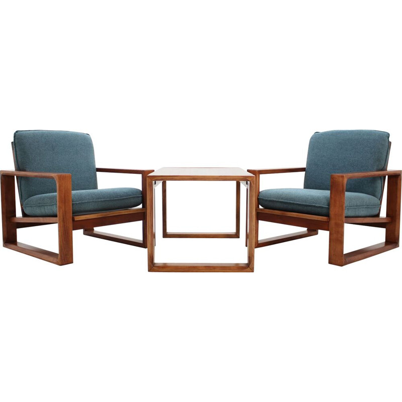 Vintage Lounge Set from Miroslav Navratil 1970s