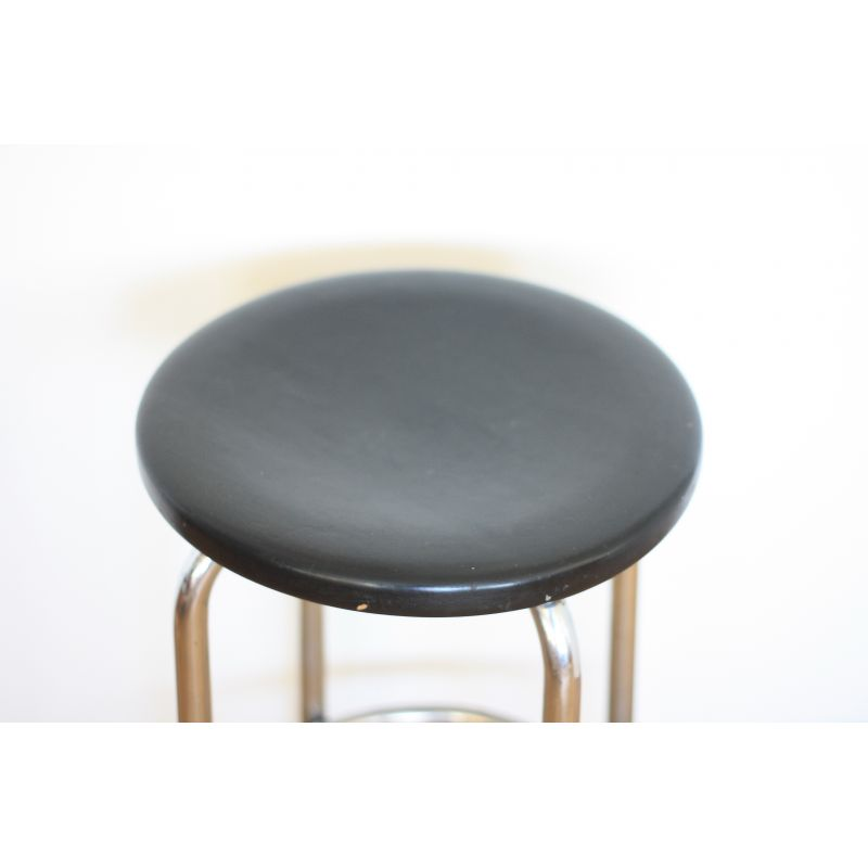 Awesome Black Functionalist Barstool 1940S Cjindustries Chair Design For Home Cjindustriesco