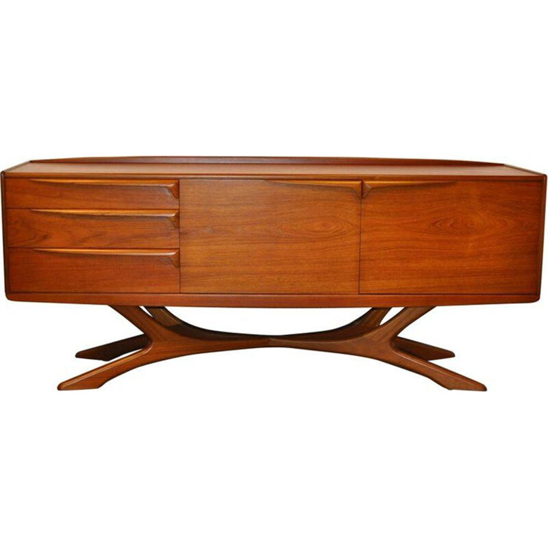 Vintage scottish sideboard for Beithcraft in teak 1960