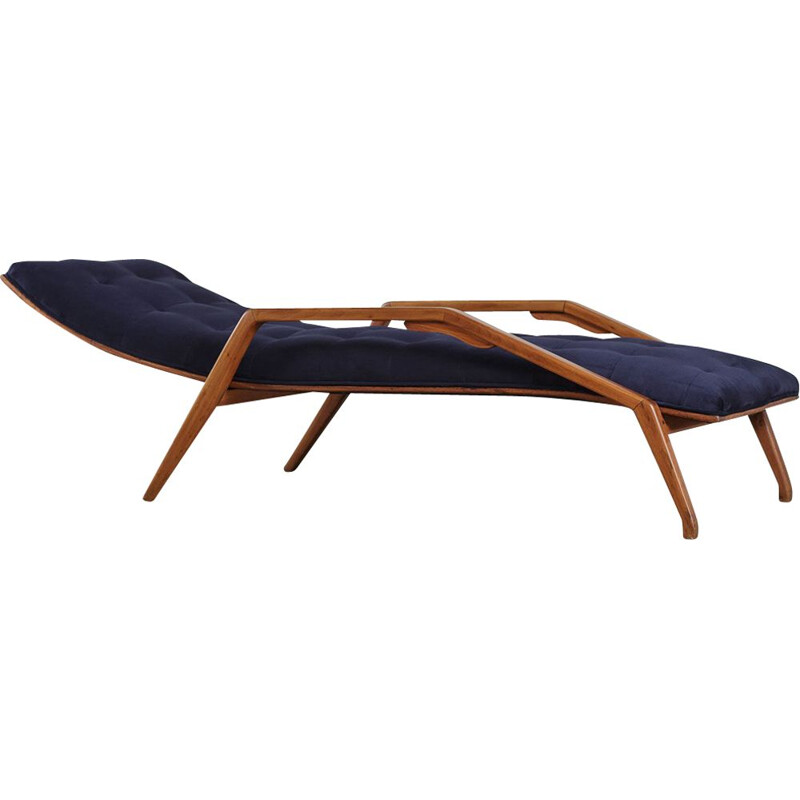 Blue vintage Daybed, by John Gillon, 1960 s