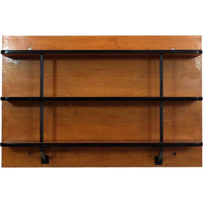 Vintage wall shelf for Pierre Guariche from the 50s