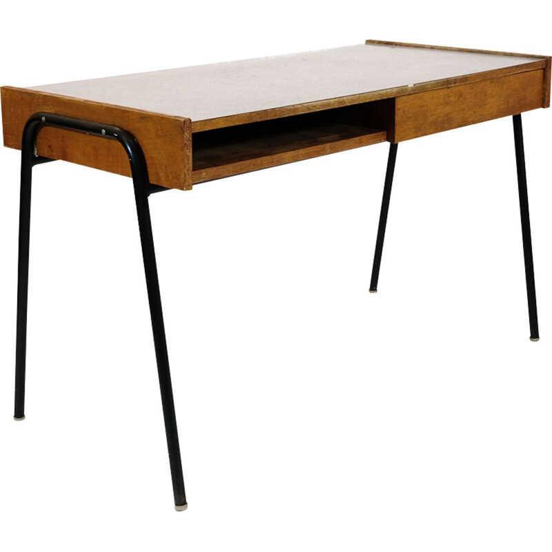 Vintage desk by Pierre Guariche from the 50s