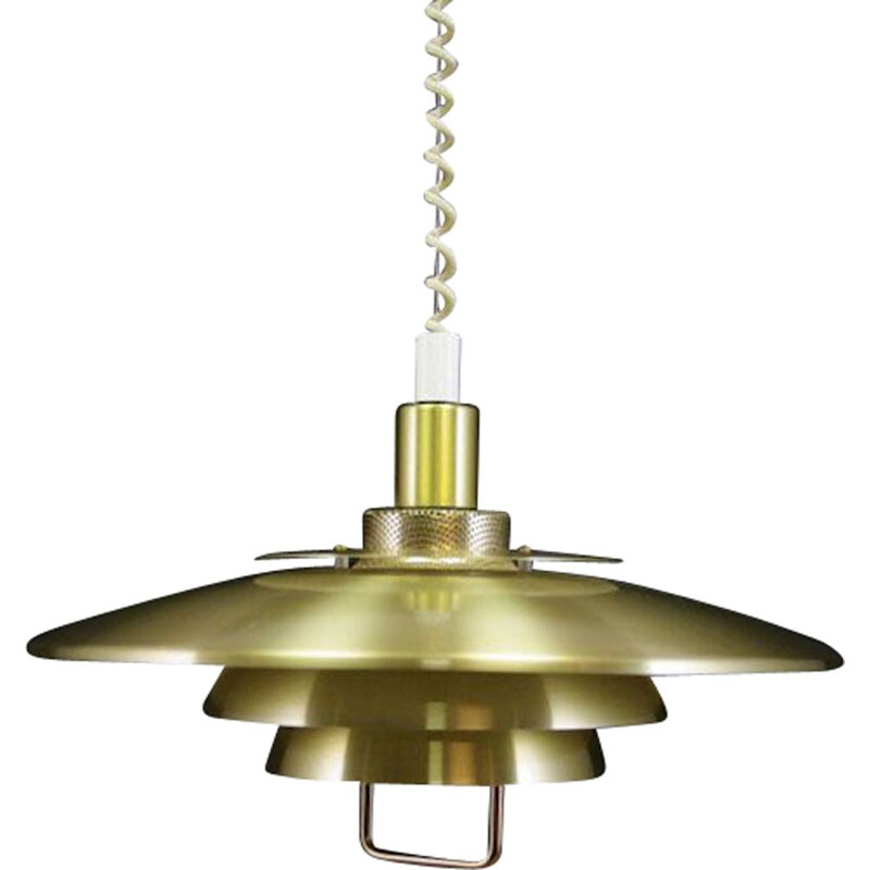 Vintage Scandinavian pendant light,1970