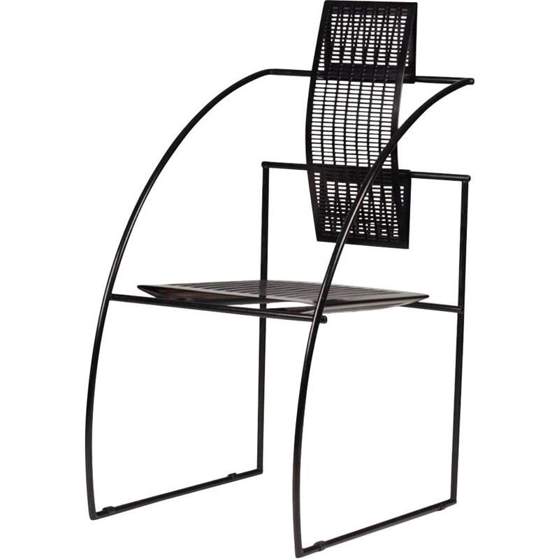 Vintage Chair Quinta by Mario Botta Italy 1980s