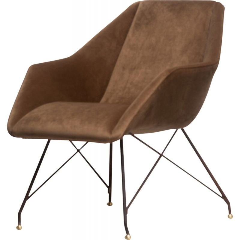 *AUTH* Vintage Armchair Concha by Martin Eisler and Carlo Hauner 1950s